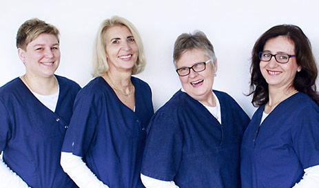 Arzthelferinnen in der Gemeinschaftspraxis Brinkmann Ceccarelli